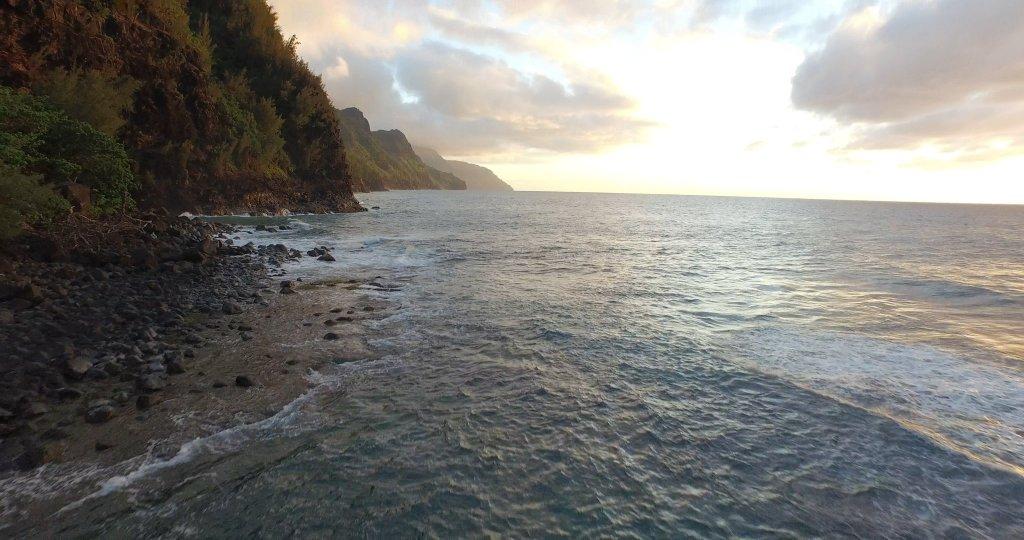 Widoki w teledysku też niczego sobie. Całość kręcono na hawajskiej wyspie Kauaʻi.