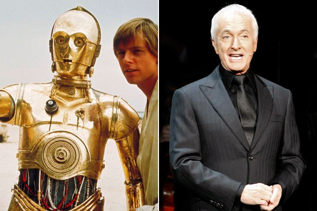 C-3PO - Anthony Daniels