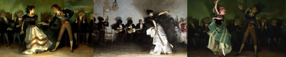 """""""El Jaleo"""", John Singer Sargent, 1882"""