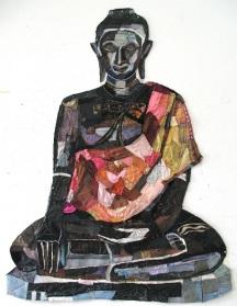Reineke Hollander, Buddha (źródło: www.textileartist.org)