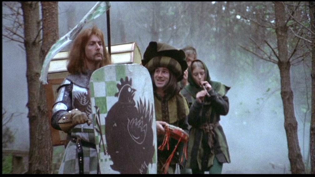 Z pieśni o Sir Robinie piosenki jednak wyciąć było nie sposób.