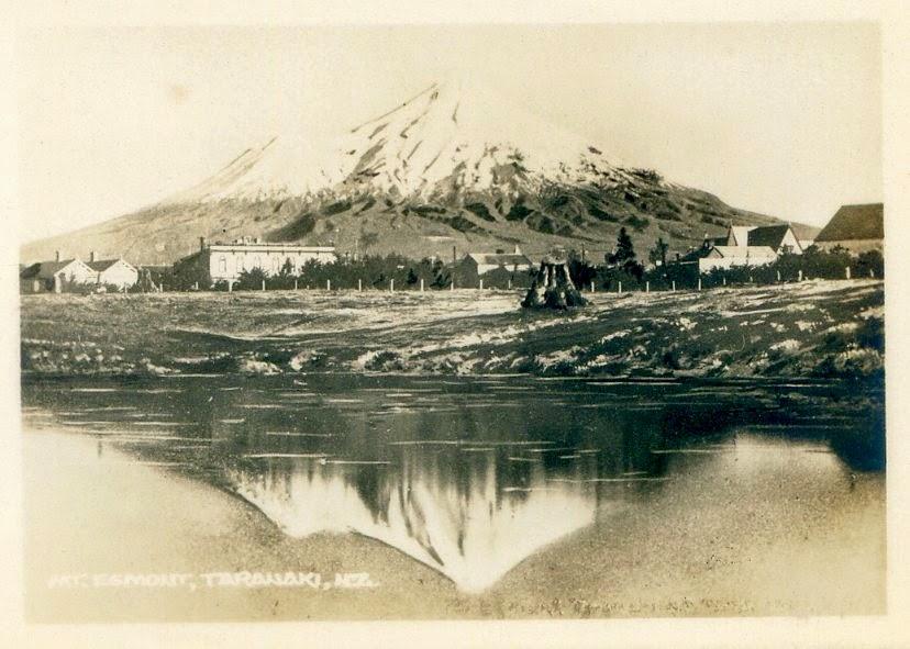 Mt Egmont, około 1880 r.