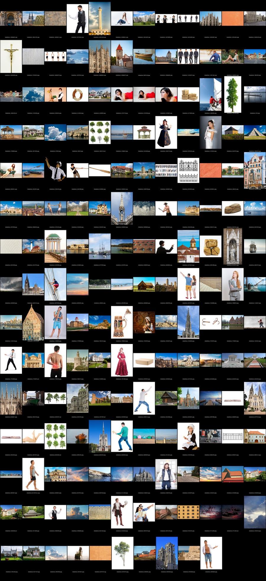 Zdjęcia użyte w celu odtworzenia obrazu.