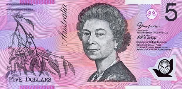 5 dolarów australijskich. Wiek: 58 lat