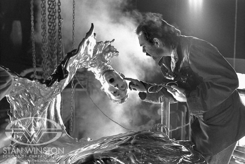 Bez takich zdjęć ciężko byłoby odgadnąć, które elementy to jeszcze efekty praktyczne, a które to już CGI. (fot. Facebok /  Stan Winston School of Character Art)