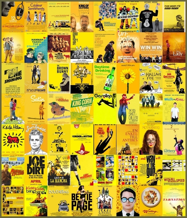 Żółty - znak rozpoznawczy kina niezależnego