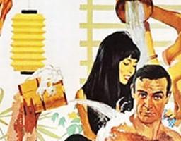 50 lat Jamesa Bonda na plakatach