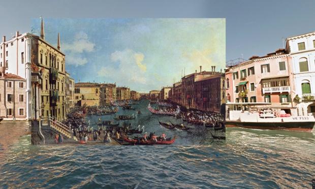 Regaty na Wielkim Kanale, Wenecja, około 1740, Canaletto