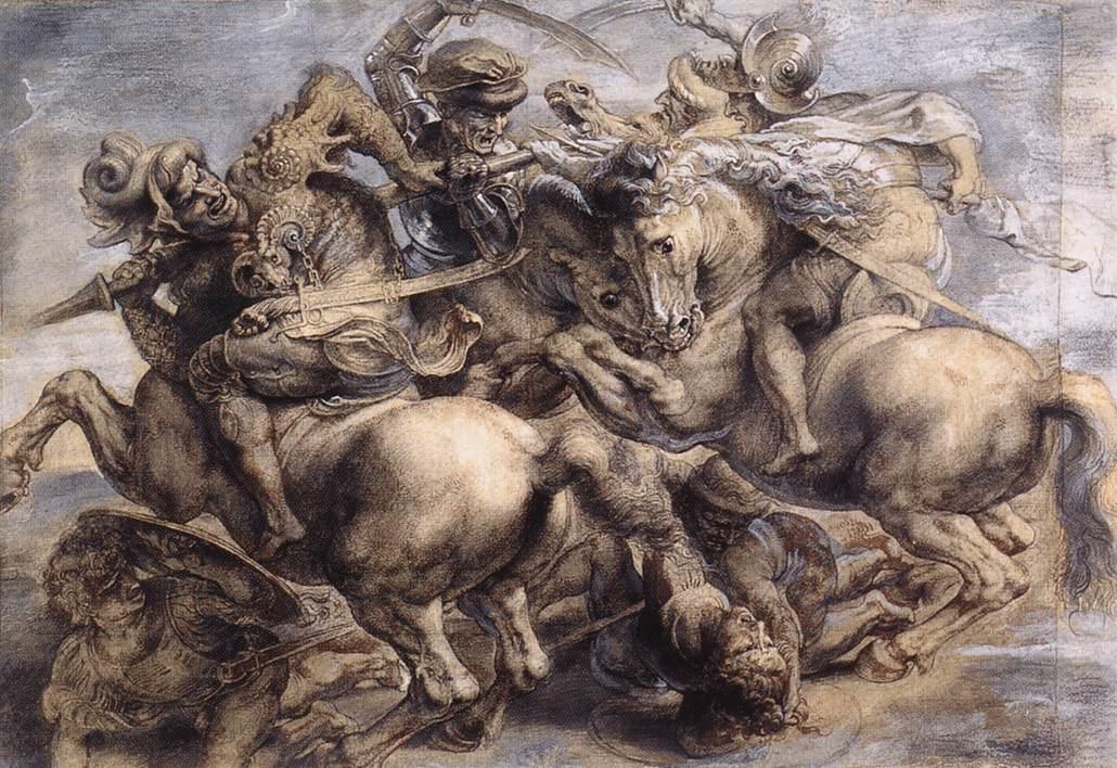 Do czasu odnalezienia oryginału, inspirowana nim wersja Rubensa pozostanie najlepszym odwzorowaniem wydarzeń legendarnej bitwy. I może niech tak zostanie.