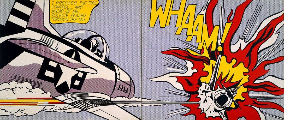 Praca Roya Lichtensteina z 1963 roku (Fair use)