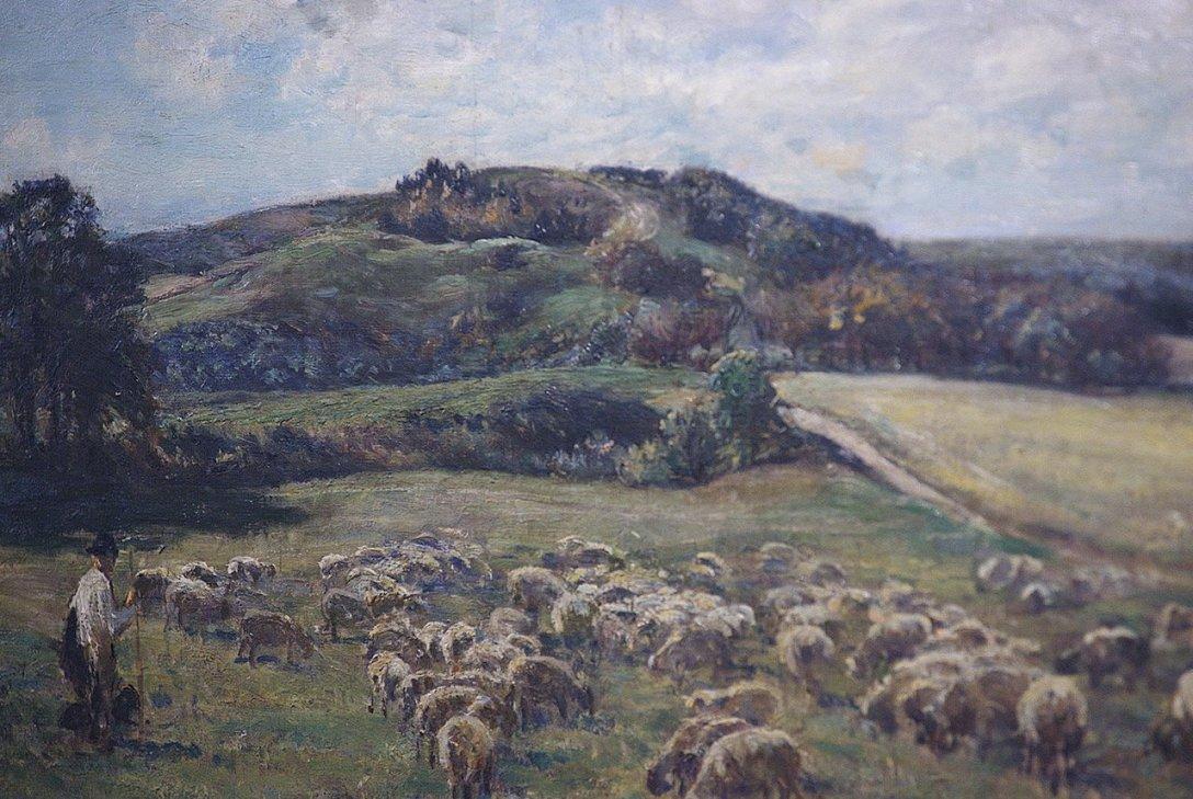 Pieśń owiec i trawy.