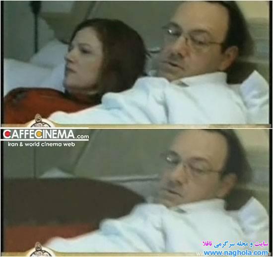 Kevin Spacey w łóżku z kobietą. I bez.
