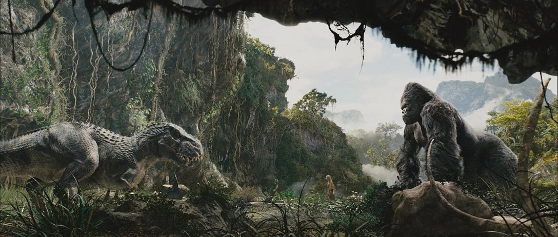 W 2020 roku Kong będzie walczył z Godzillą, ale wątpię, że dorówna zajebistością tej scenie.