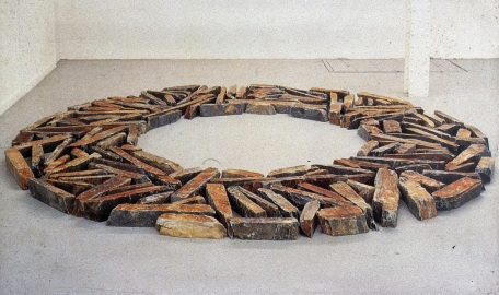 8a.Richard Long, Cornish Slate Ring, 1984