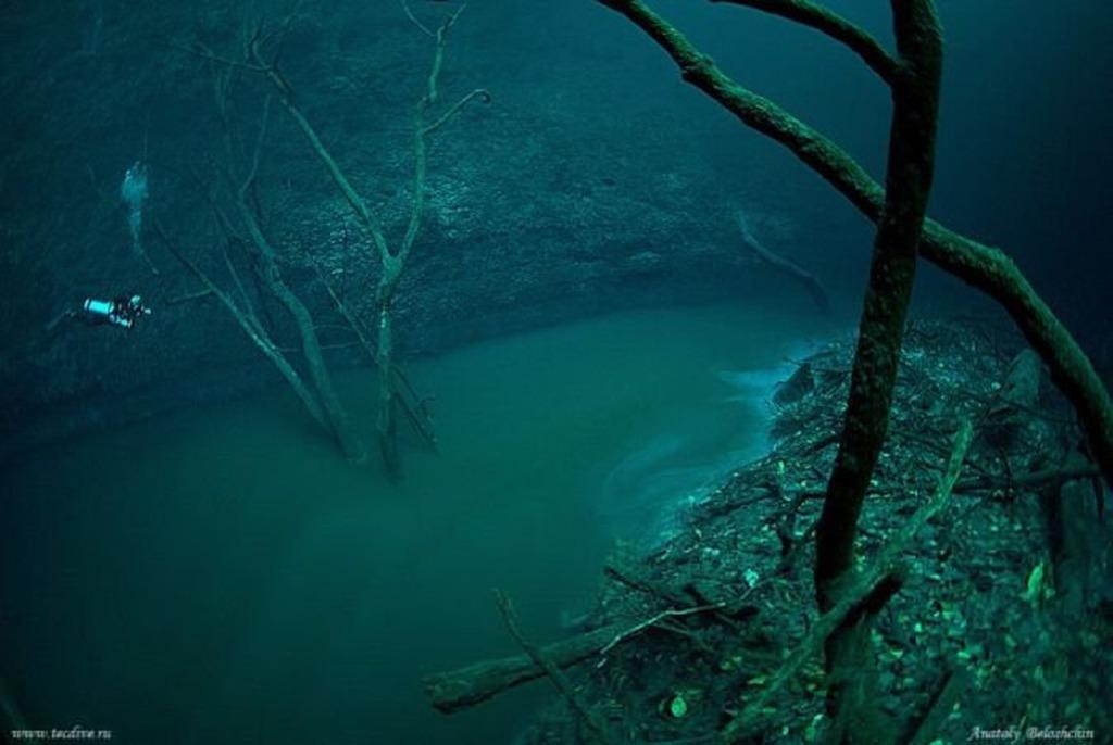 Podmorska rzeka.