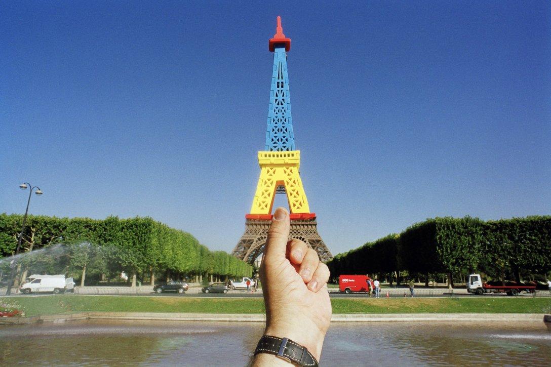 Składana Wieżą Eiffla, Paryż