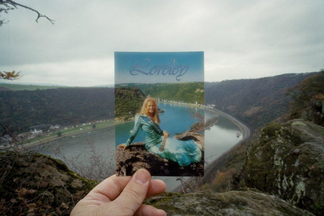 Pocztówka z okolic Moguncji, Niemcy