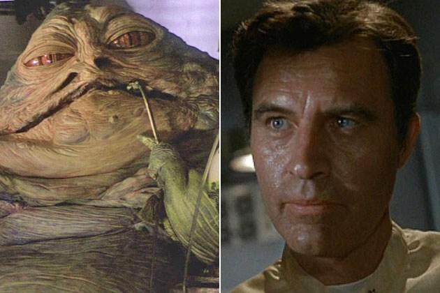 Jabba (głos) - Larry Ward