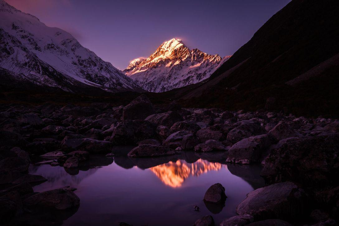 Mt Cook (Aoraki) (fot. Faisal Syed)