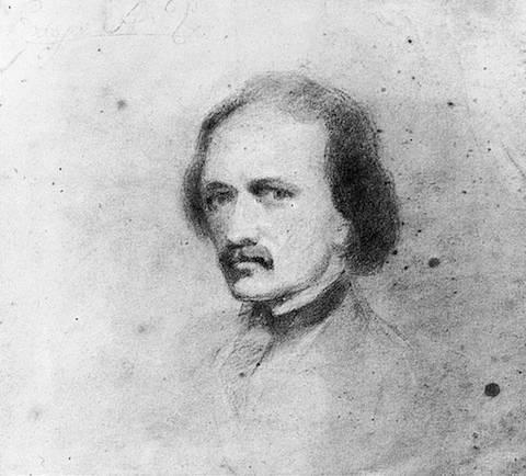 Edgar Allan Poe, data nieznana (autorem prawdopodobnie nie jest Poe)