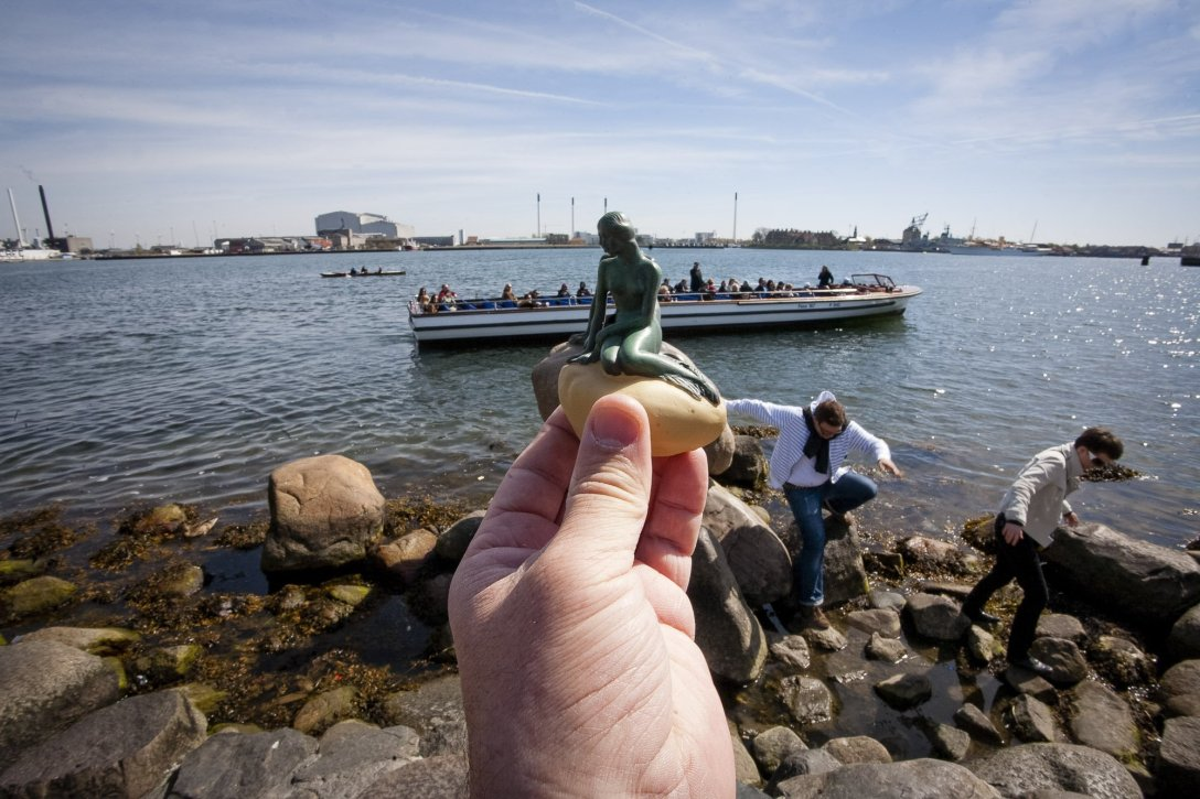 Mała syrenka, Kopenhaga, Dania