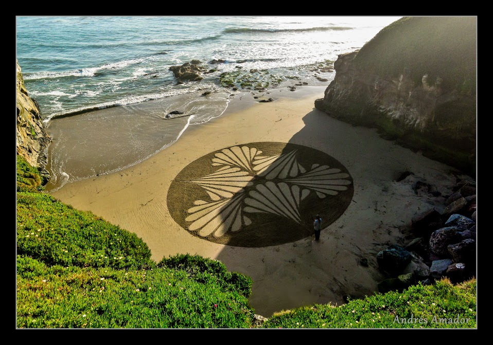 Inspired by my friend Andreas Hoenigschmid. Santa Cruz, CA