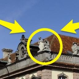 Małpi interes przy kamienicy w stolicy
