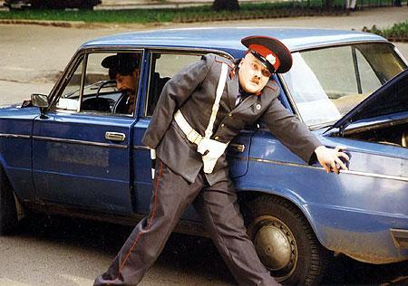 Wizerunek moskiewskich stróżów prawa wymagał odrobiny dobrego PR-u.