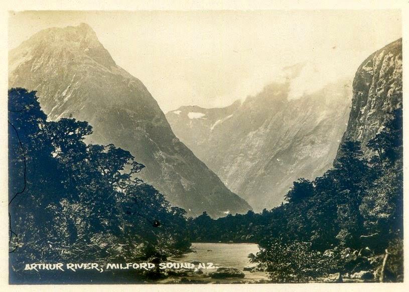 Milford Sound około 1880 r.