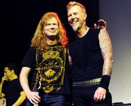 Dla tych, którzy nie kojarzą Megadeth, Mustaine to ten po lewej. Pana po prawej nie wypada nie znać.