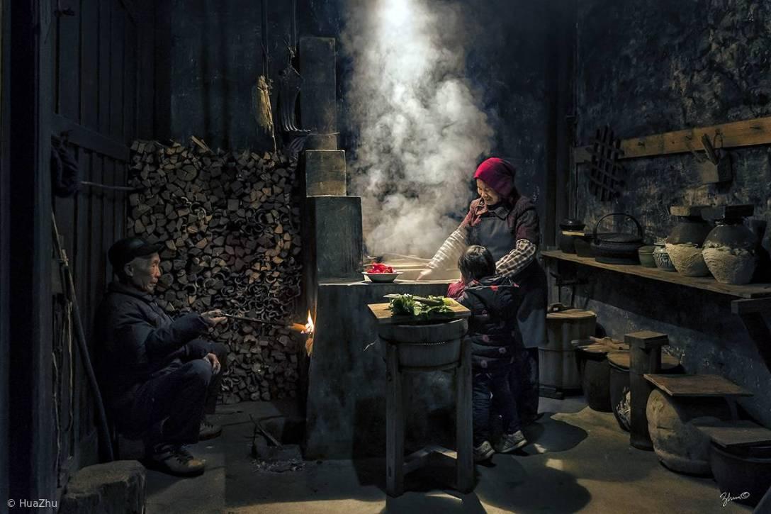 Na chińskiej wsi. (fot. Hua Zhu)