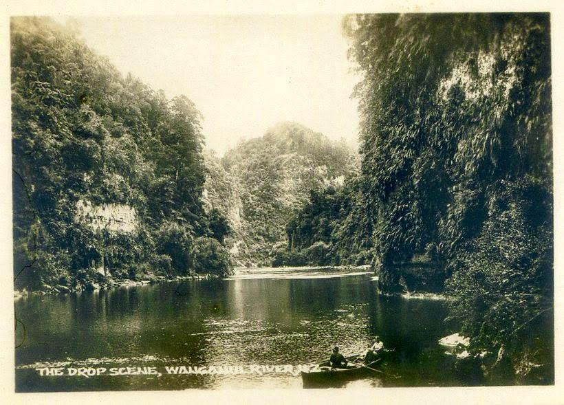 Rzeka Wanganui około 1880 r.