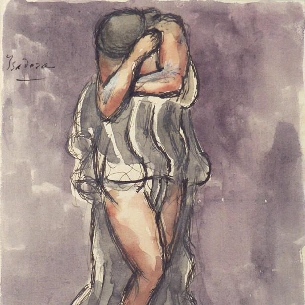 Antoine BOURDELLE (1861-1929). Isadora. Plume et encre de Chine, aquarelle sur papier vélin, 1909-1929. Paris, musée Bourdelle. © Musée Bourdelle / Roger-Viollet