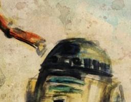 Gwiezdne wojny jako akwarele