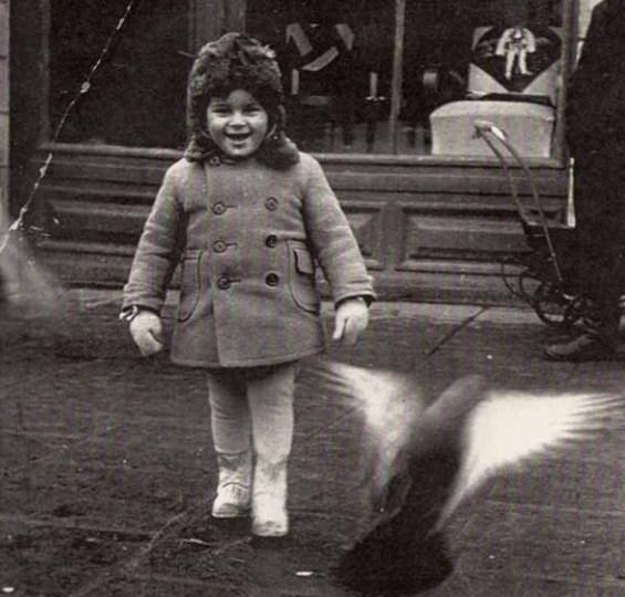 Prawdę mówiąc mnie nabrałby nawet bez przebrania. (na zdj. Andrzej Czajkowski w wieku 3 lat - zdjęcie z archiwum Piotra Paszkowskiego)