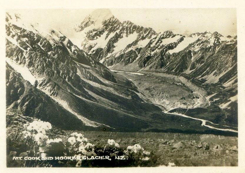 Mt Cook około 1880 r.