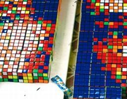 Rubik Kubizm, czyli sztuka na bazie kostki Rubika
