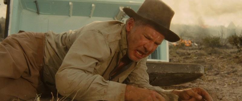 23 lata później Spielberg niestety nie zrezygnował z lodówki