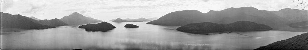 Pelorus Sound, około 1923-1928 r.