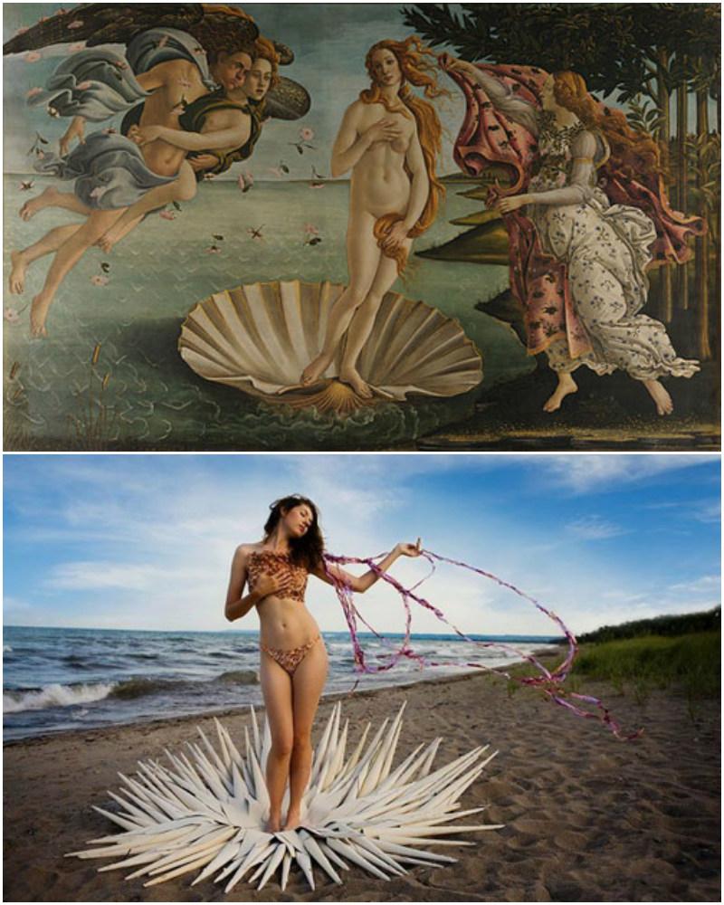 """""""Narodziny Venus"""", Botticelli"""