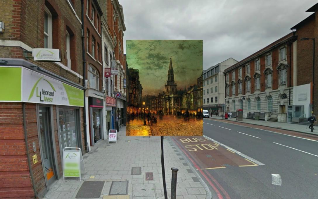 Blackman Street, 1885, John Atkinson Grimshaw