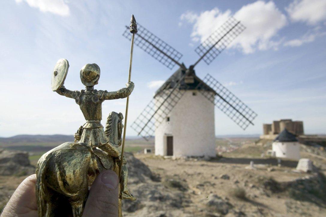 Don Kichot w Hiszpanii