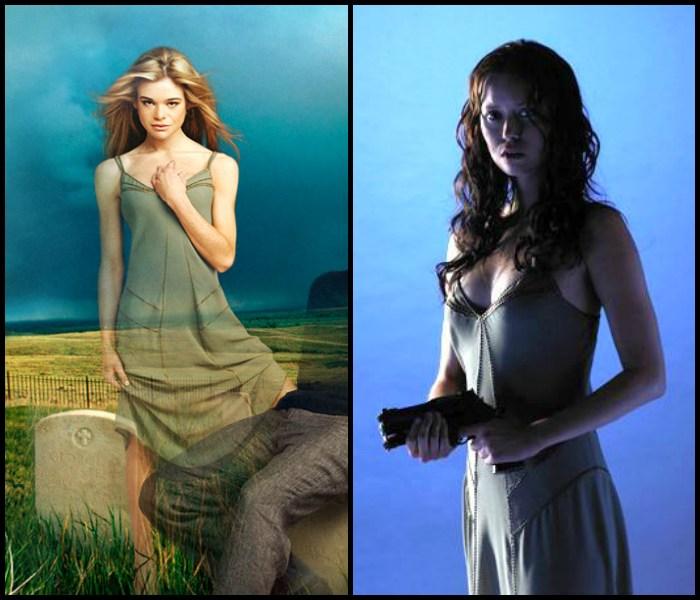"Ellen Muth w serialu ""Dead Like Me"" oraz Summer Glau w ""Serenity"", będącym kontynuacją serialu ""Firefly"""