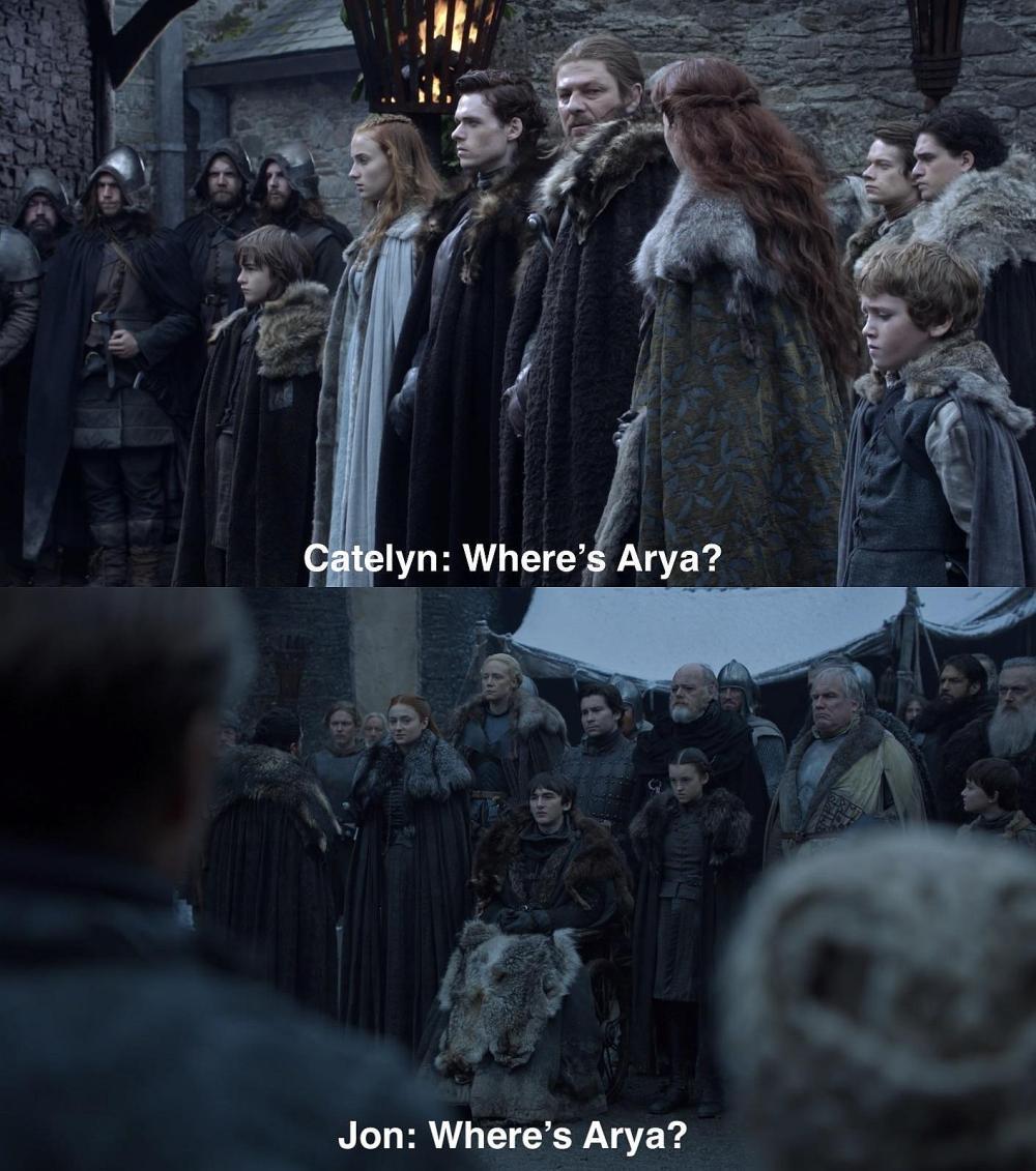 Arya, jak to Arya.