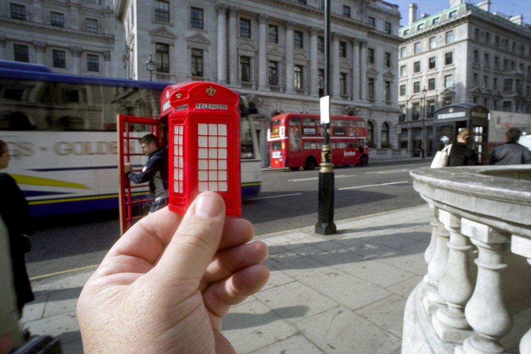 Budka telefoniczna, Londyn