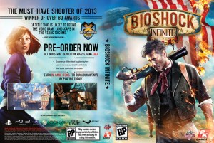 BioShock Infinite - okładka sklepowa