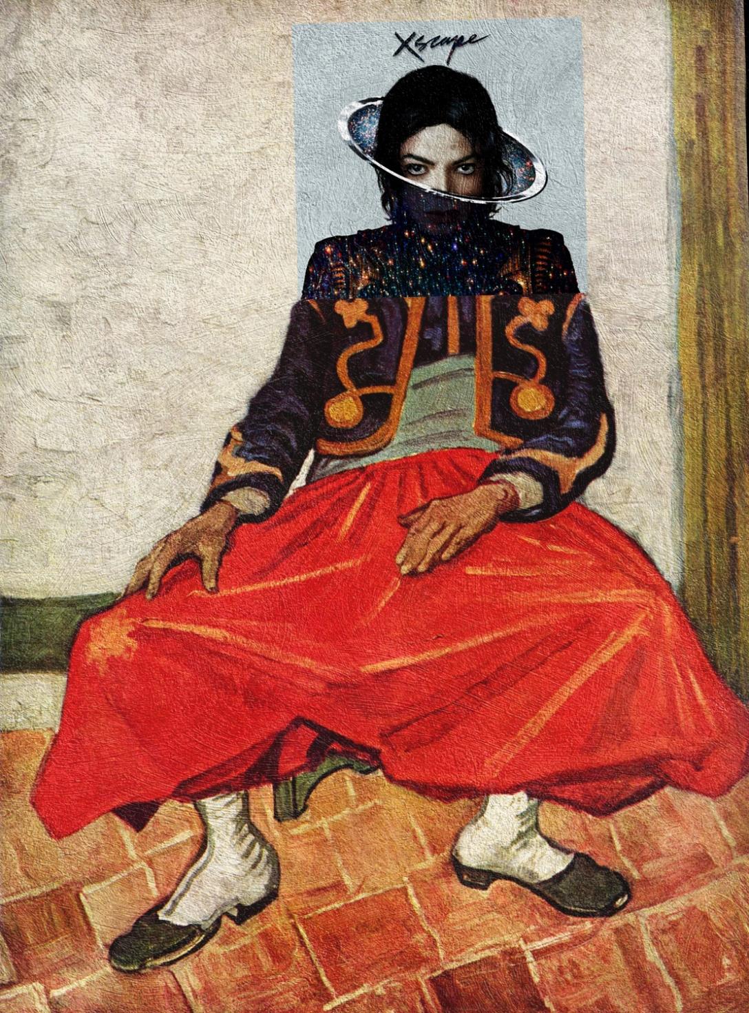Xscape, Michael Jackson + Żuaw, Vincent van Gogh
