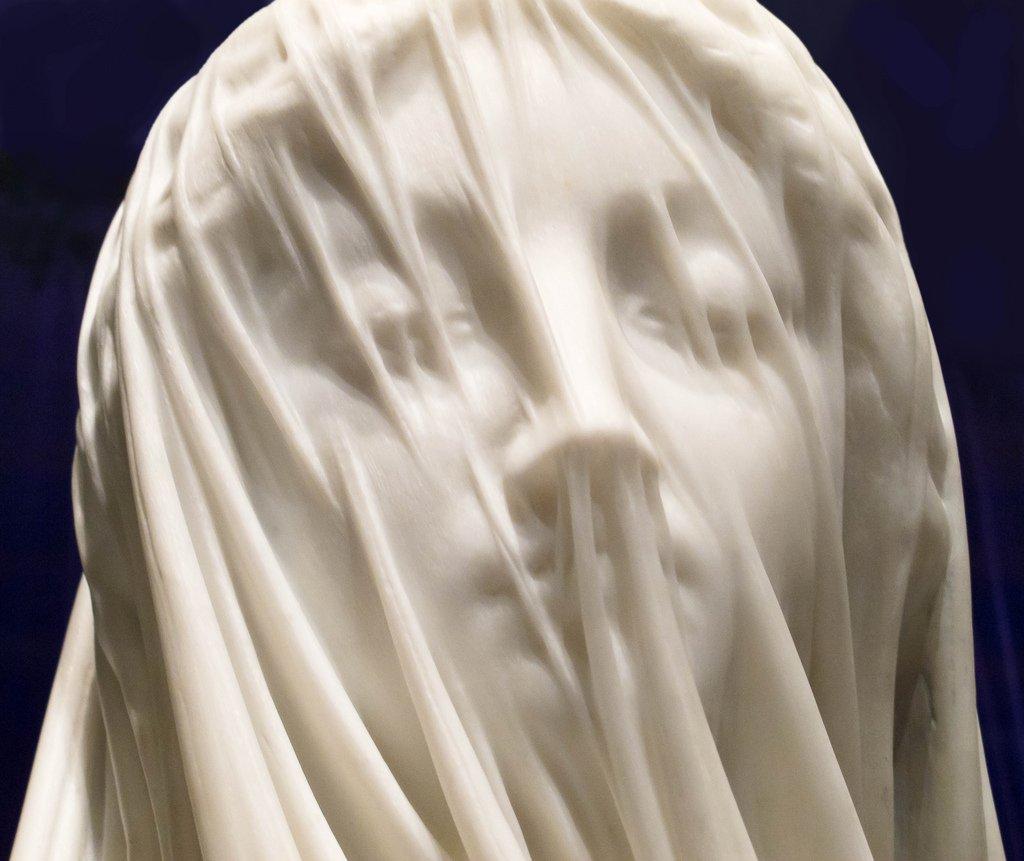 Błogosławiona Maryja Dziewica w welonie (autor: Giovanni Strazza)