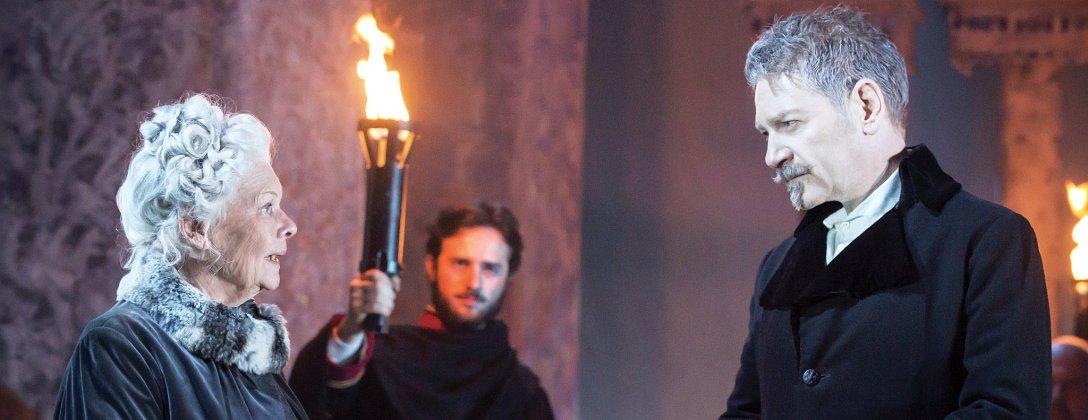 Judi Dench i Kenneth Branagh. Nie mogę się zdecydować, kto zagrał swoją rolę lepiej. (fot. Johan Persson/Kenneth Branagh Theatre Company/Garrick)