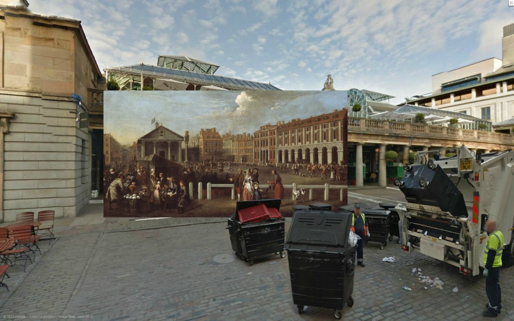 Rynek w Covent Garden, 1737, Balthazar Nebot